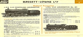 Picture of Bassett Lowke Model Train Catalogue