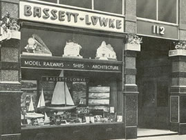Picture of Bassett-Lowke Shop London