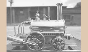 picture of birmingham dribbler model train