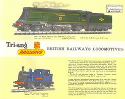 Picture of Triang Model Rail Catalogue