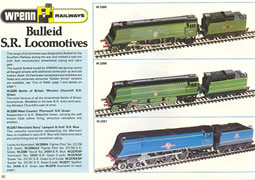 Picture of Wrenn Railways Model Train Catalogue